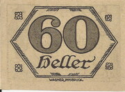 60 Heller (Brandenberg in Tirol) – revers