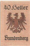 40 Heller (Brandenberg in Tirol) – revers
