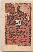 20 Heller (Brandenberg in Tirol) – avers