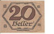 20 Heller (Brandenberg in Tirol) – revers