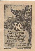 40 Heller (Brandenberg) – avers