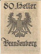 80 Heller (Brandenberg) – revers