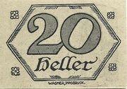 20 Heller (Brandenberg) – revers