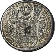 1 Thaler - Friedrich II Albrecht – revers