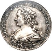 1 Thaler - Karl Wilhelm Friedrich & Christiane Charlotte – avers