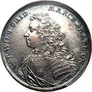 1 thaler Karl Wilhelm Friedrich (Accession) -  avers