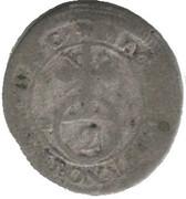 2 kreuzer Georg Friedrich II – revers