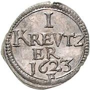 1 Kreuzer - Joachim Ernst – revers