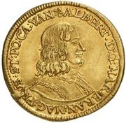 1 Ducat - Albrecht – avers