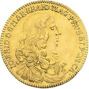 1 Ducat - Johann Friedrich – avers