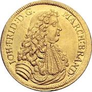 2 Ducat - Johann Friedrich – avers