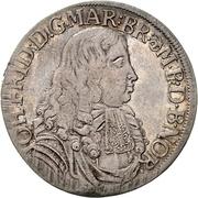 ⅔ Thaler - Johann Friedrich – avers
