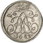 1 Kreuzer - Johann Friedrich – avers