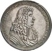 1 Thaler - Johann Friedrich (Death) – avers
