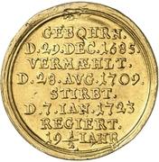 1 Ducat - Wilhelm Friedrich (Death) – revers