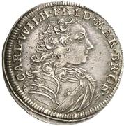 1 Groschen - Karl Wilhelm Friedrich (Accession) – avers