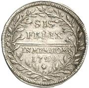 1 Groschen - Karl Wilhelm Friedrich (Accession) – revers