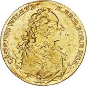 4 Ducat - Karl Wilhelm Friedrich Ansbach (Justice Board) – avers