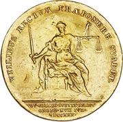 4 Ducat - Karl Wilhelm Friedrich Ansbach (Justice Board) – revers