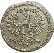 1 Pfennig - Karl Wilhelm Friedrich – avers