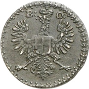 2 Pfennig - Karl Wilhelm Friedrich – avers