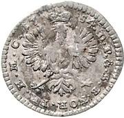 1 Kreuzer - Karl Wilhelm Friedrich – revers