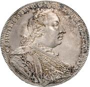1 Thaler - Karl Wilhelm Friedrich – avers