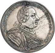1 Thaler - Karl Wilhelm Friedrich (Death) – avers