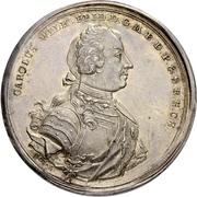 1 Thaler - Karl Wilhelm Friedrich (Falkentaler) – avers