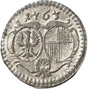 1 Pfennig - Christian Friedrich Karl Alexander – avers