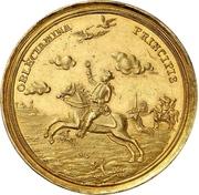 1 Thaler - Karl Wilhelm Friedrich (Gold pattern strike; Falkentaler) – revers