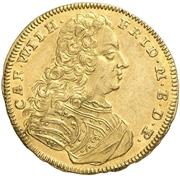 1 Ducat - Karl Wilhelm Friedrich -  avers