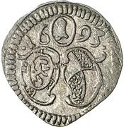1 Pfennig - Georg Friedrich II. – avers