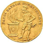 1 ducat Christian Friedrich Karl Alexander – avers