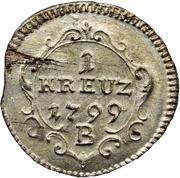 1 Kreuzer - Friedrich Wilhelm III – revers