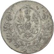 6 kreuzer Friedrich Wilhelm III – avers