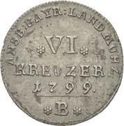 6 kreuzer Friedrich Wilhelm III – revers