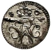 1 pfennig Friedrich Wilhelm III – avers