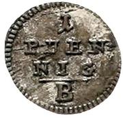 1 pfennig Friedrich Wilhelm III – revers