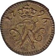 1 pfennig Friedrich Wilhelm III -  avers