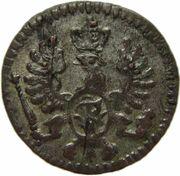 1 pfennig Friedrich Wilhelm II – avers