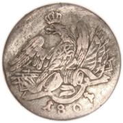 3 Kreuzer - Friedrich Wilhelm III – avers
