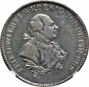 1 Gulden - Friedrich Wilhelm II – avers