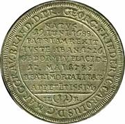 1/12 Thaler - Friedrich (Mort de Georg Friedrich Karl) – revers