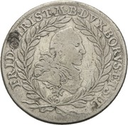 20 Kreuzer - Friedrich Christian – avers