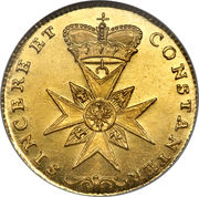 1 Ducat - Friedrich Christian – revers