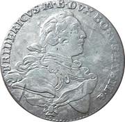 ⅙ thaler Friedrich – avers