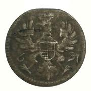 6 pfennig Friedrich Christian (landmünze) – avers