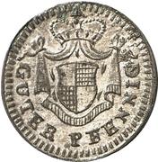 1 pfennig Friedrich – revers