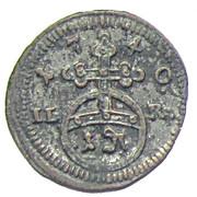 1 Pfennig - Friedrich – revers